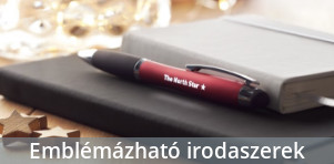 Logózott tollak, emblémázott írószerek