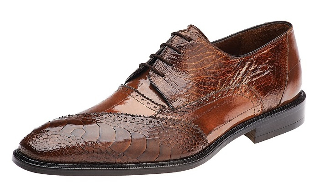 Belvedere Nino(Men's) -Antique Camel Eel/Ostrich Leg Outlet Affordable Buy Cheap Prices Sale Cheap Prices GoU4f