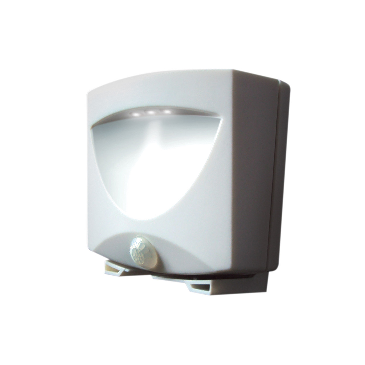 Battery-Powered Motion-Activated Outdoor Night-Light  sc 1 st  MAXSA Innovations & Battery-Powered Motion-Activated Outdoor Night-Light in White