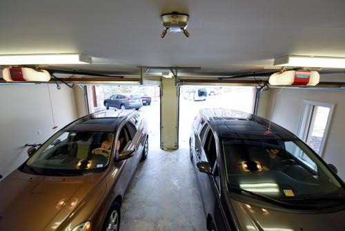 Park Right Dual Garage Laser Park