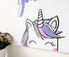 cute unicorn wall art print