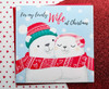 NILS & LUMI Polar Bears - WIFE Christmas Card