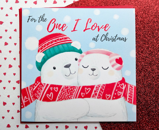 NILS & LUMI Polar Bears Christmas Card