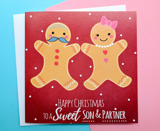 MR & MS Gingerbread - SON & PARTNER Christmas Card