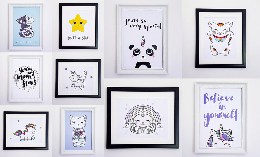 New In! Wall Art Prints