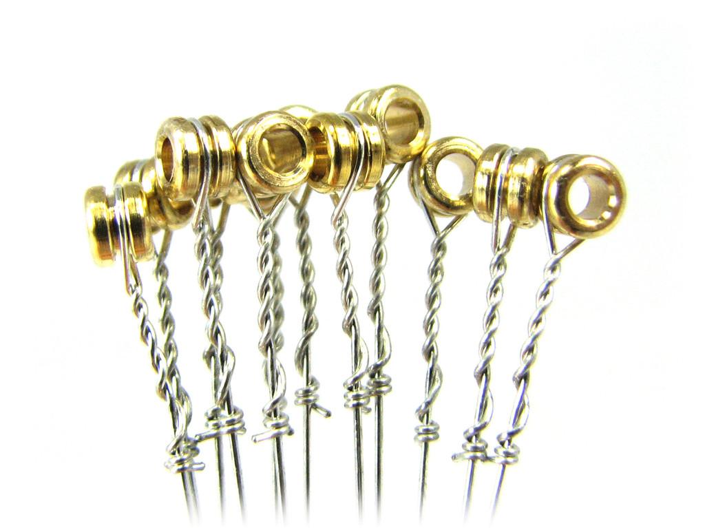 """15-gauge (.015"""") Steel Strings for Guitar (12-pack)"""