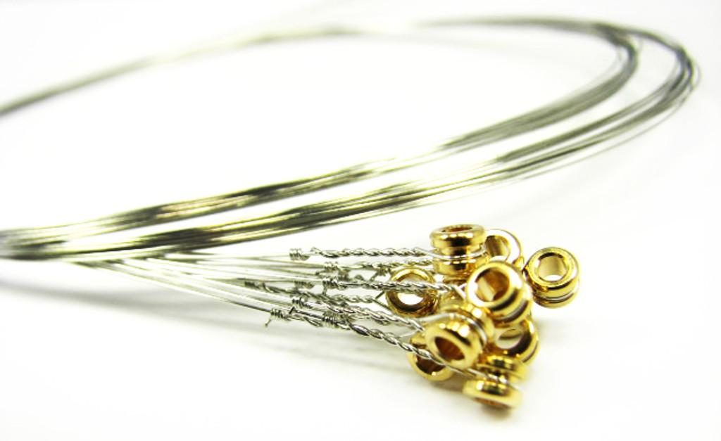 10 Gauge Strings : 10 gauge 010 steel strings for guitar 12 pack c b gitty crafter supply ~ Hamham.info Haus und Dekorationen