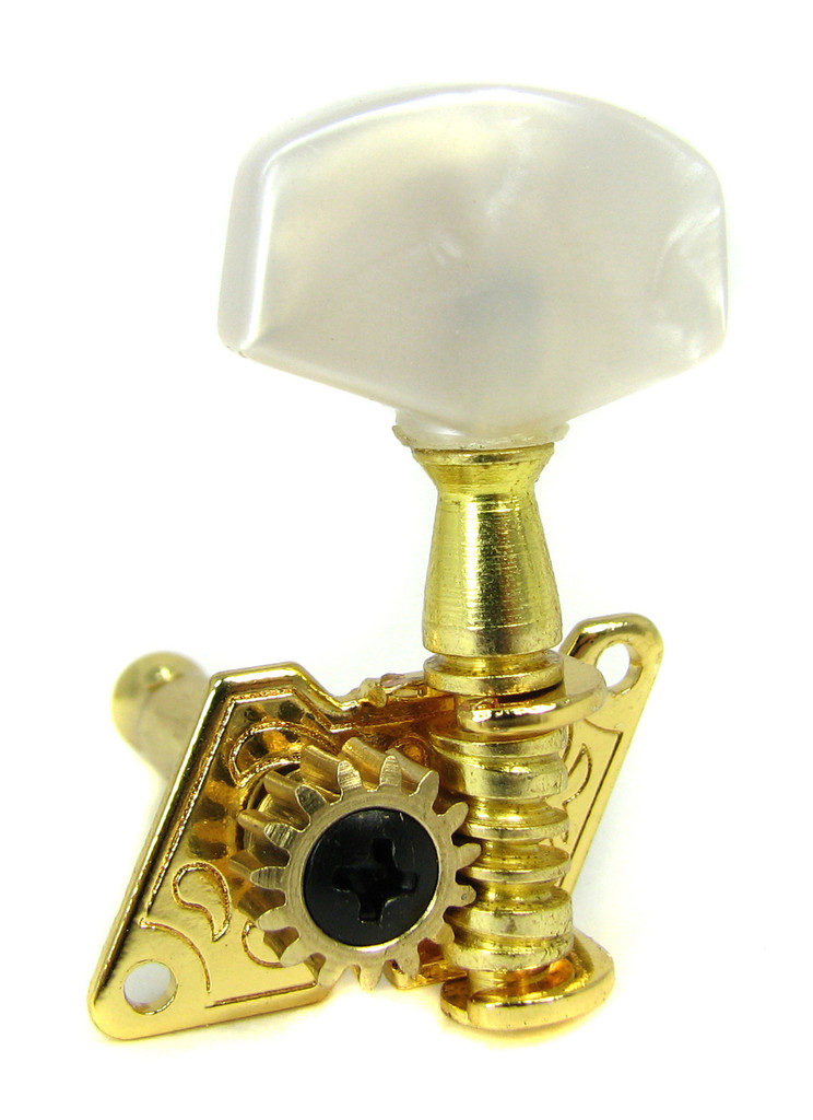 6-pack Gold Open-Gear Tuners/Machine Heads
