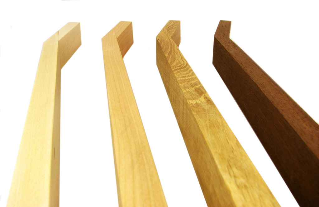 Standard Cigar Box Guitar Necks - select Wood, Headstock and Fretting options
