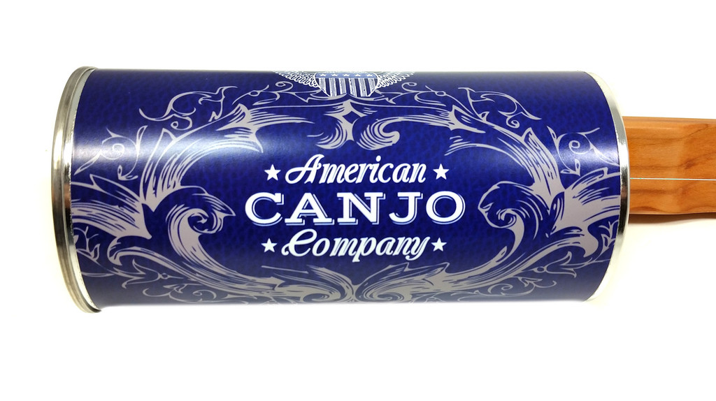 """""""The Edison"""" One-String Electric Canjo by the American Canjo Company"""