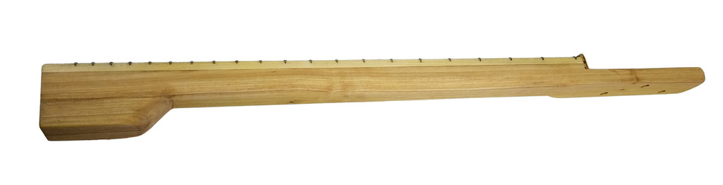 23-inch Scale Fully Fretted Bolt-On Neck for 3-String Cigar Box Guitars and more