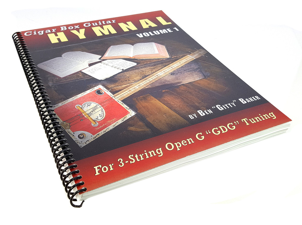 Cigar Box Guitar Hymnal Vol. 1 - 57 Classic Christian Hymns with Tablature for 3-string GDG
