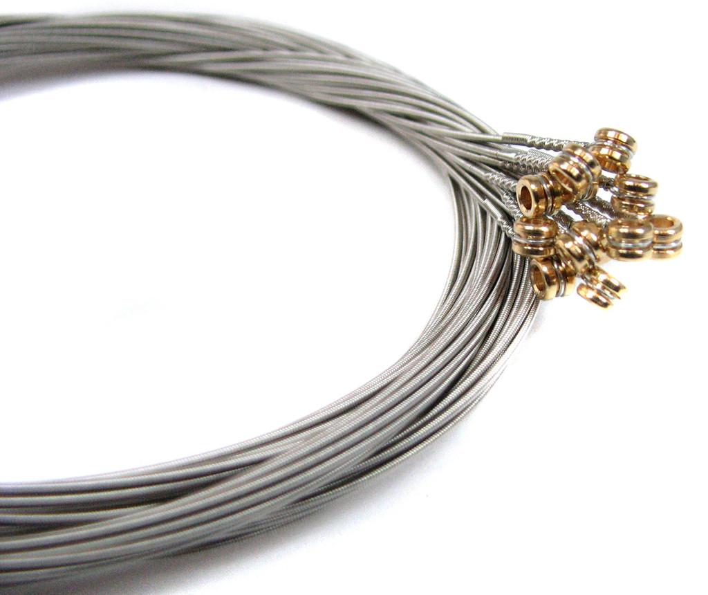 """46-gauge (.046"""") Nickel-Wound Electric Guitar Strings (12-pack)"""
