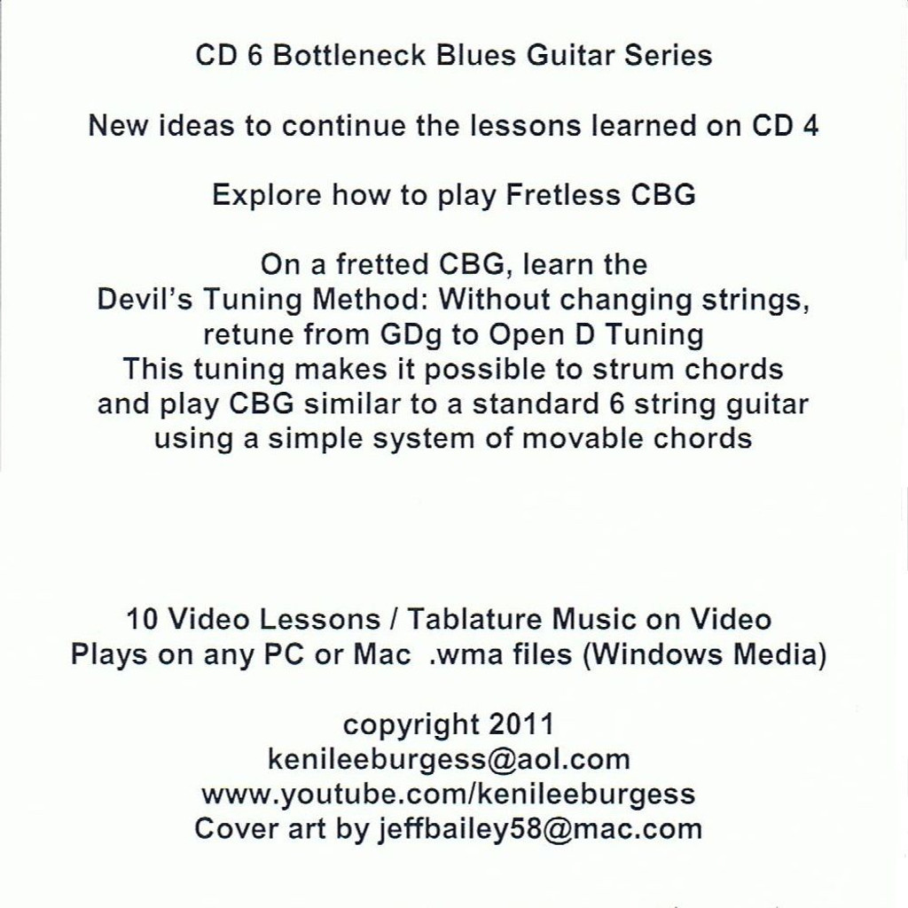 How to Play the 3-string Cigar Box Guitar PART 2- 16 Video Lesson Pack from Keni Lee Burgess