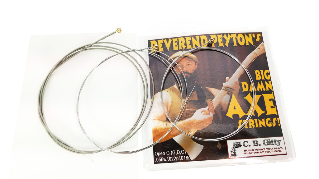Reverend Peyton's Big Damn Axe String Set - Electric Medium GDG