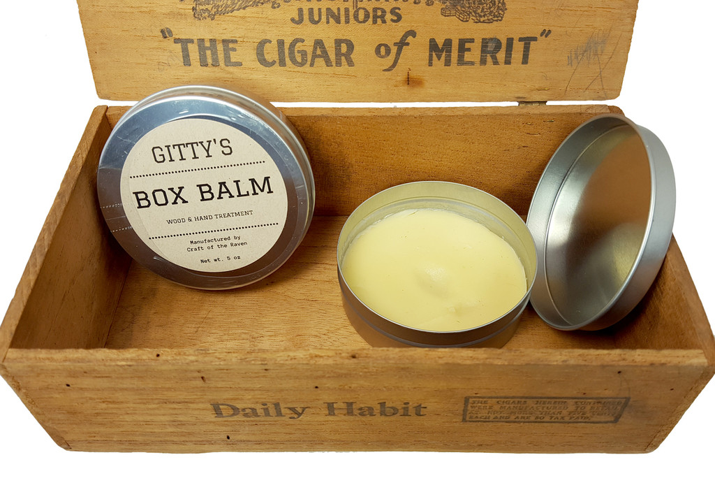 "Gitty's ""Box Balm"" Wood and Hand Treatment - Hand-crafted by Mrs. Gitty!"