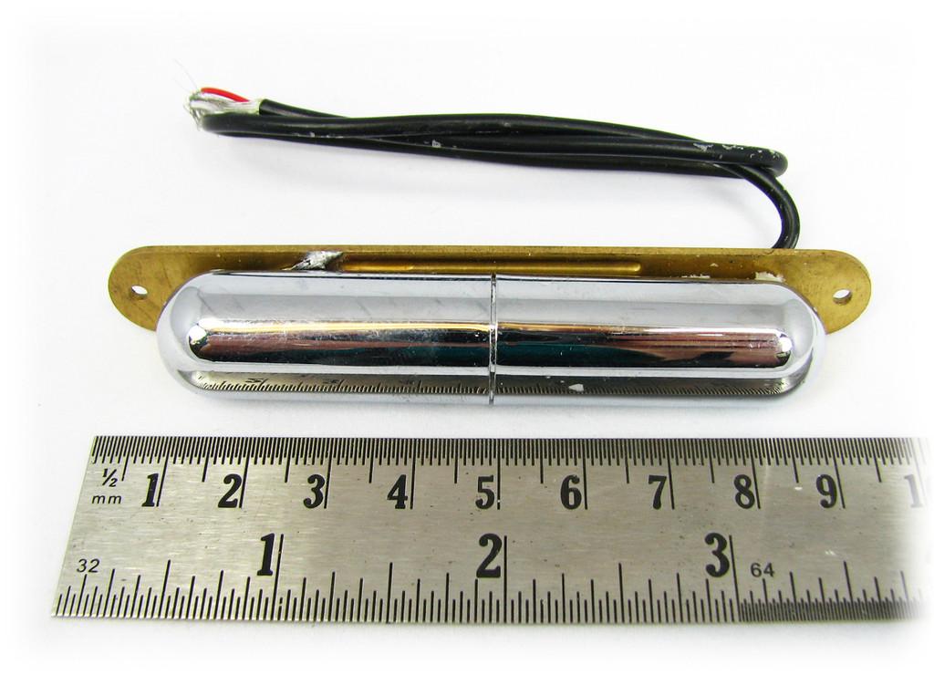 Vintage-style Chrome Lipstick-Tube Single-Coil Pickup