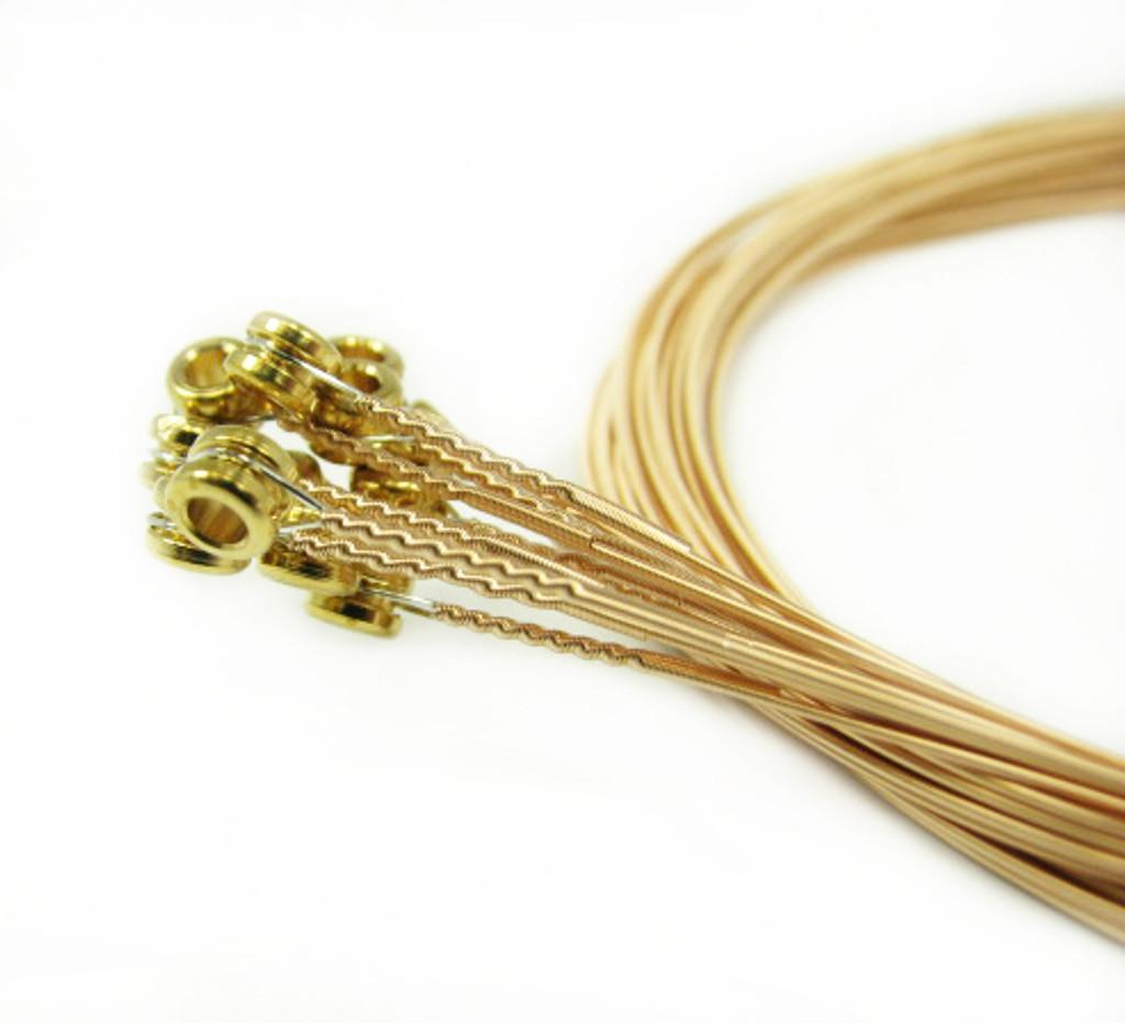26 gauge 026 phosphor bronze wound guitar strings 12 pack c b gitty crafter supply. Black Bedroom Furniture Sets. Home Design Ideas