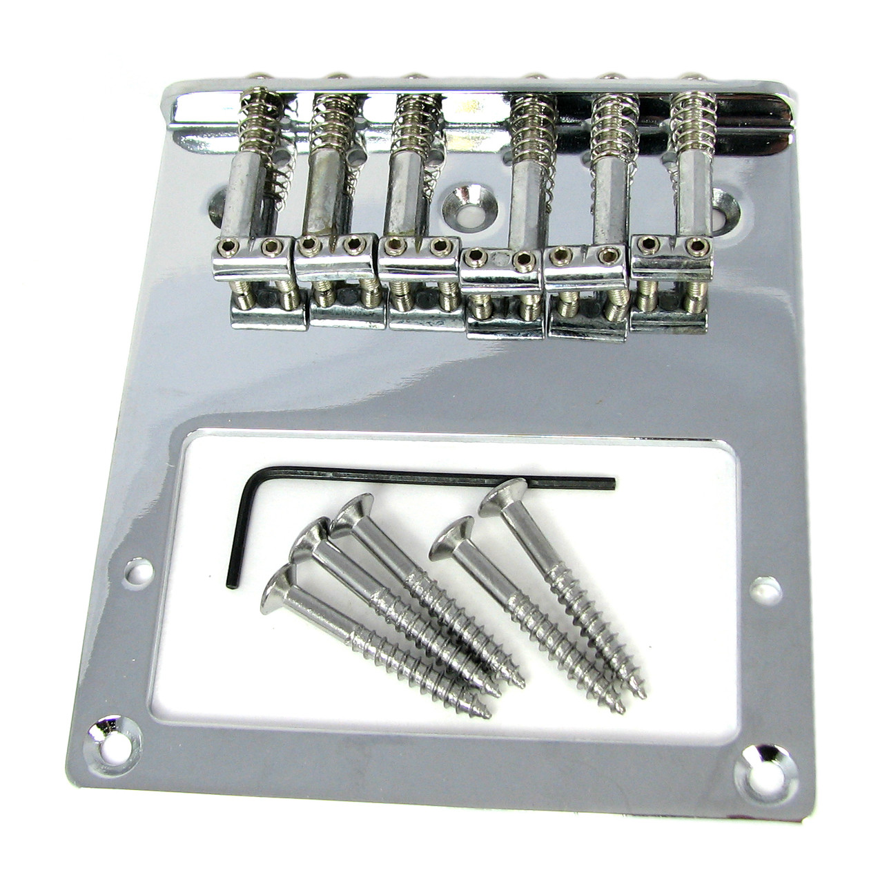 telecaster tm style top loading chrome electric guitar bridge plate for humbuckers c b. Black Bedroom Furniture Sets. Home Design Ideas