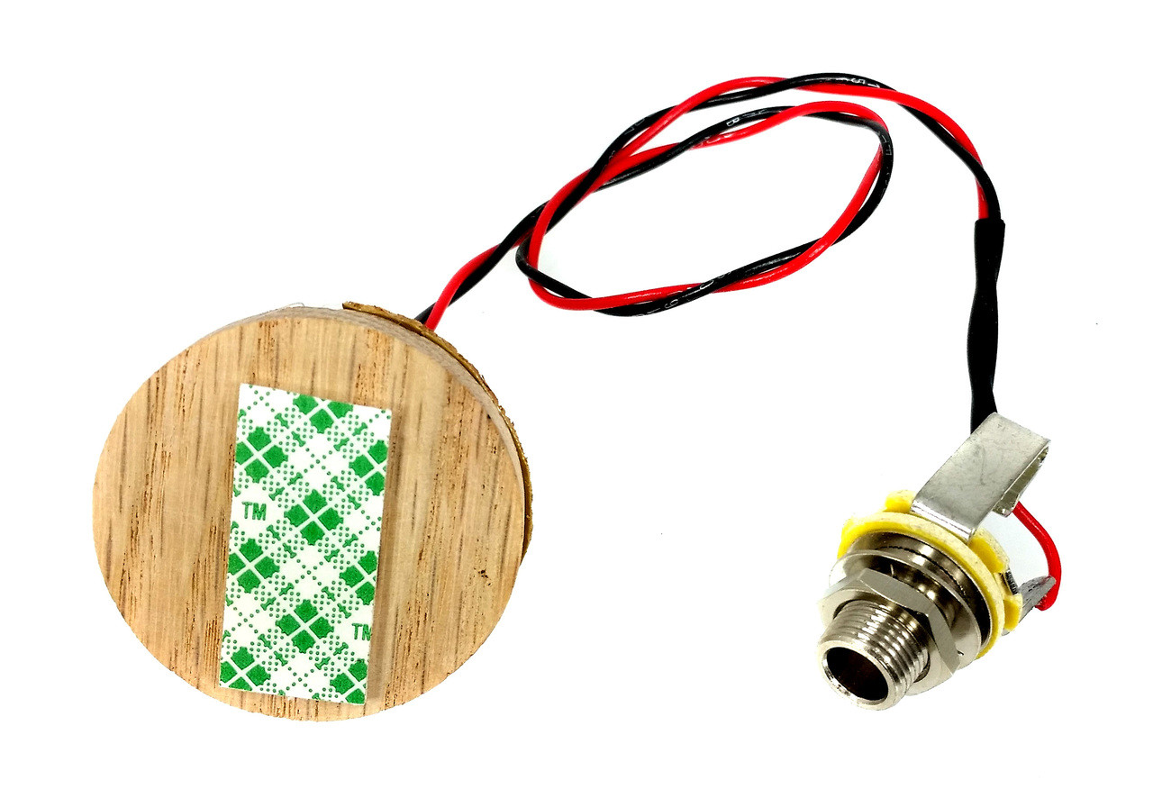 C B Gittys Disc O Tone Junior Piezo Pickup Harness For Cigar Guitar Wiring Electric Diagrams