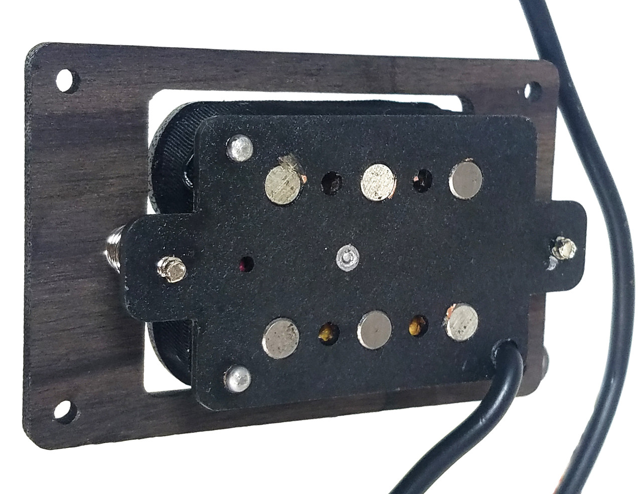 Deltabucker 3 String Rosewood Cigar Box Guitar Humbucker Pickup Pre Wiring Wired With