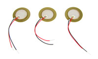 3-pack 20mm Piezos with Leads