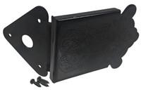 Black Decorative Tailpiece for Mandolin and Cigar Box Guitars