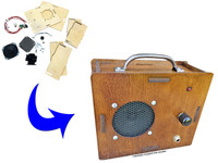 DIY 2.5 Watt Amplifier Kit - Laser-cut enclosure offers endless customization possibilities