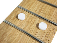 20pc. Pearl White Fret Marker Dots - 6.12mm diameter (just under 1/4-inch)