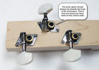 Shane Speal Signature 3-String Cigar Box Guitar Tuners