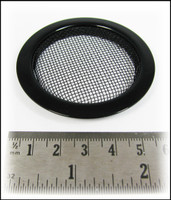 2pc. Black Screened Sound Hole Inserts
