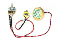 """C. B. Gitty's """"Disc-o-Tone"""" Standard - Piezo Pickup Harness for Cigar Box Guitars - Includes How-To Guide"""