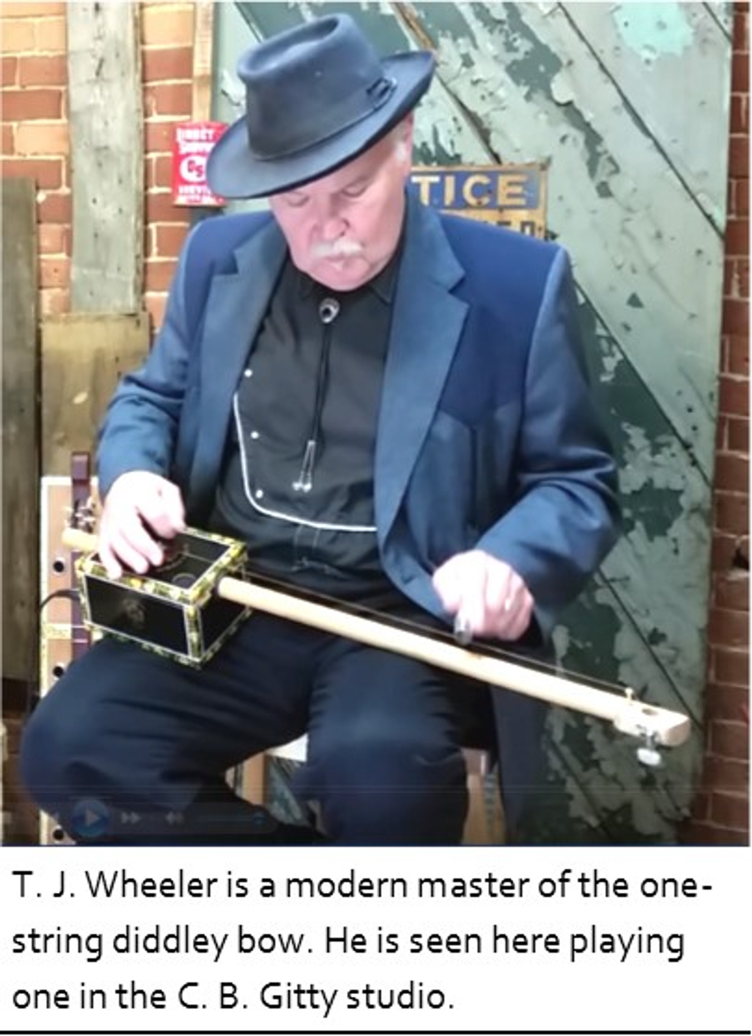 Cigar Box Diddley Bow One String Guitar Kit Includes