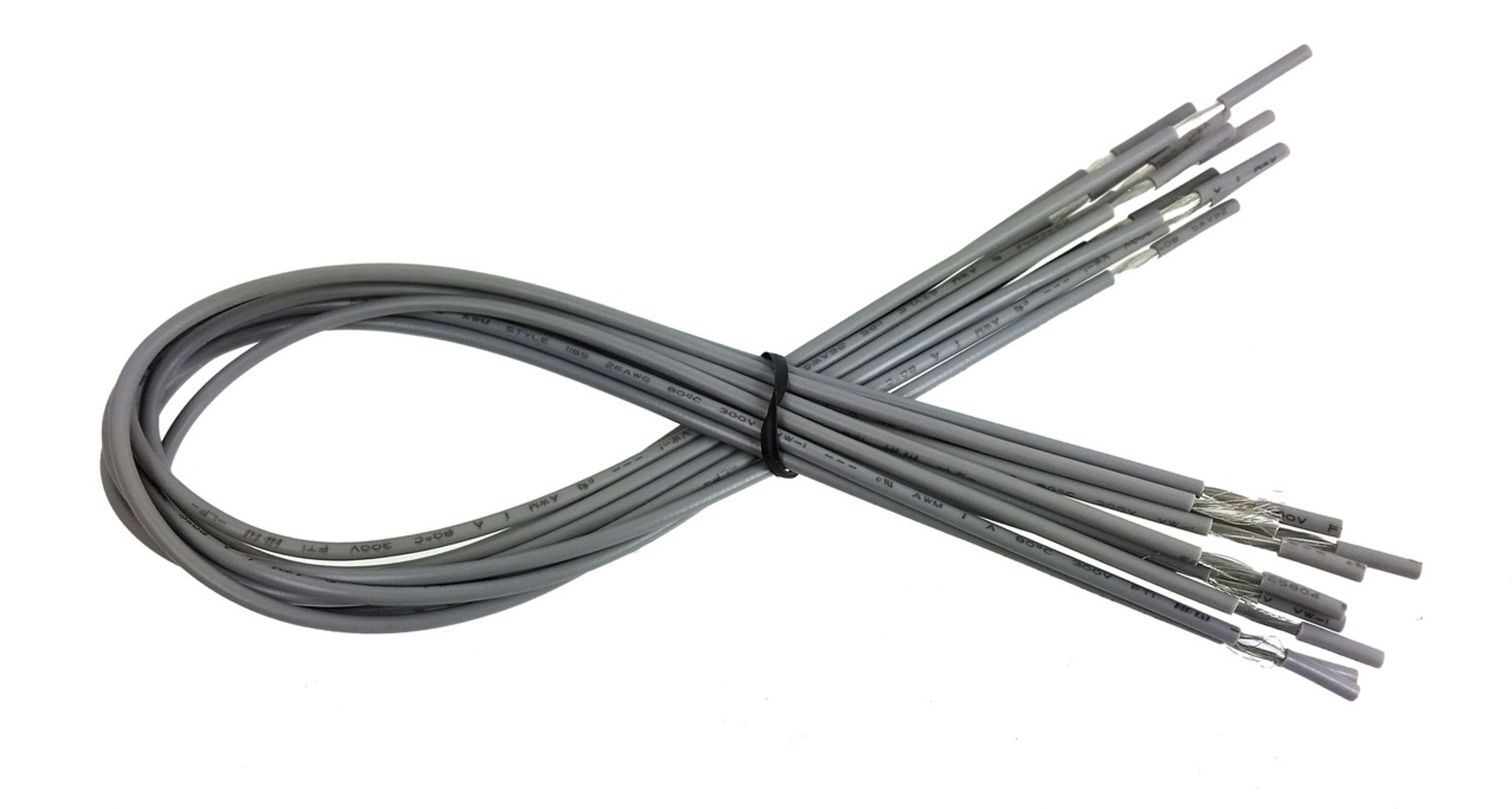10pc. 20-inch Shielded Hookup Wires - C. B. Gitty Crafter Supply