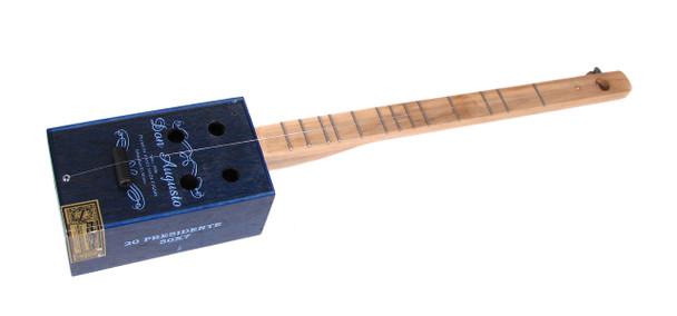 little boy blue one string cigar box guitar diddley bow c b gitty crafter supply. Black Bedroom Furniture Sets. Home Design Ideas