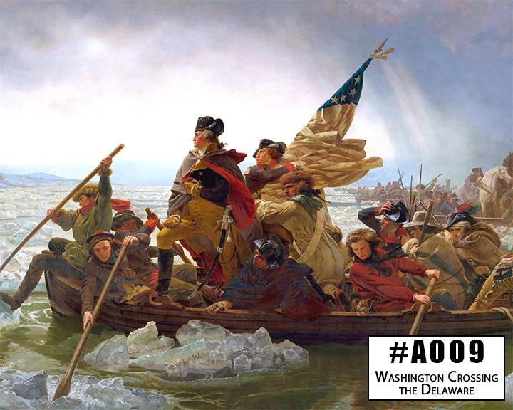 A009 Washington Crossing the Delaware