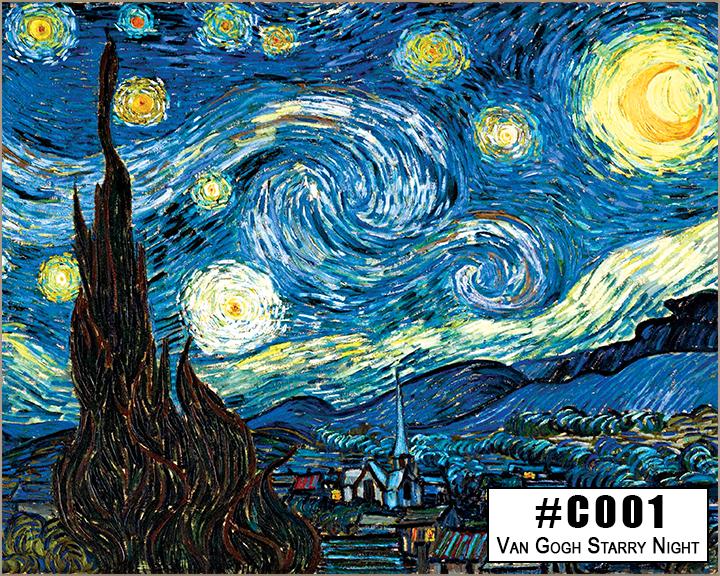 C001 Van Gogh Starry Night Box Design
