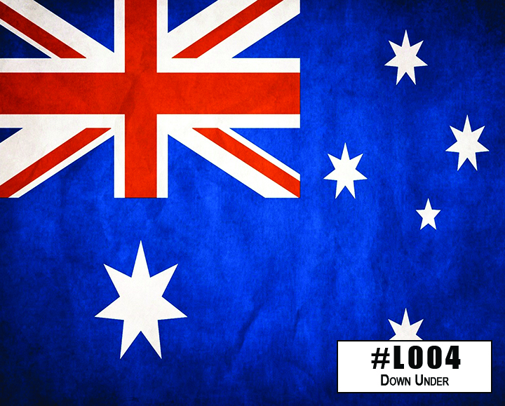 L004 Down Under (Weathered Australian Flag)