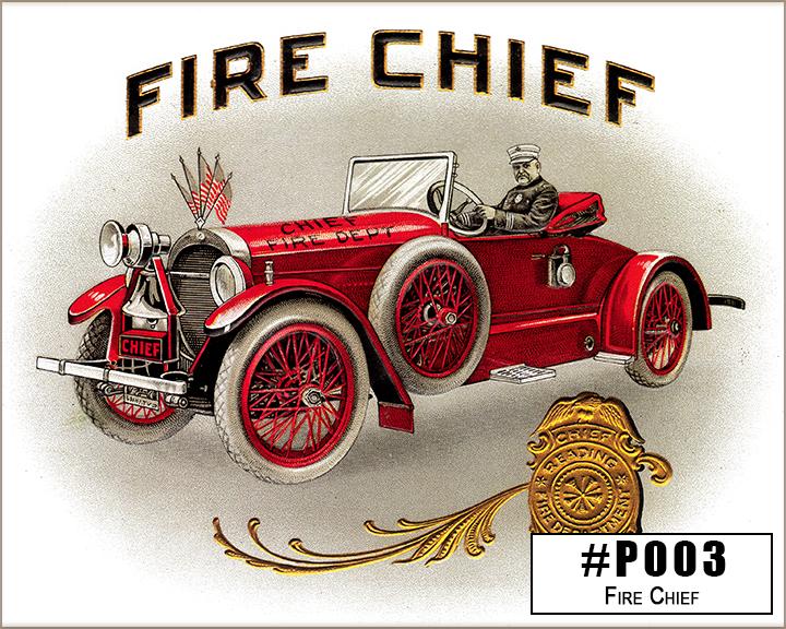 P003 Fire Chief Box Design