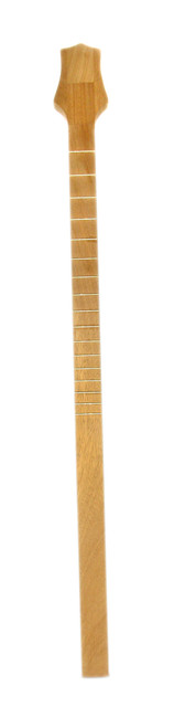 premium exotic hardwood cigar box guitar neck genuine mahogany with gold frets c b gitty. Black Bedroom Furniture Sets. Home Design Ideas