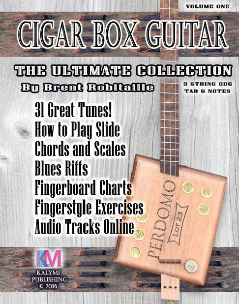 3 String Cigar Box Guitar The Ultimate Collection How To Play Book