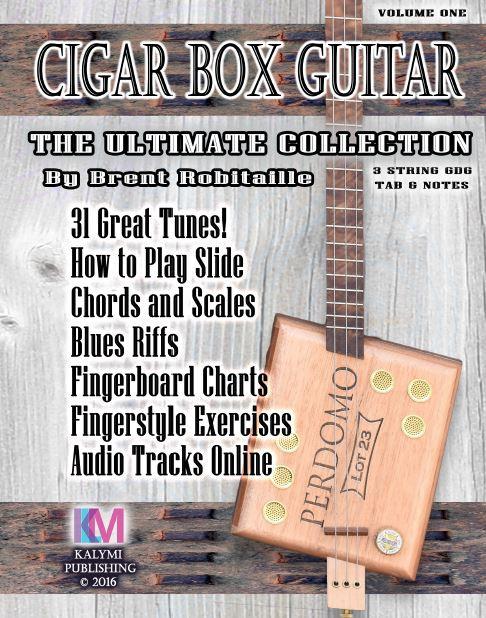 3-String Cigar Box Guitar \
