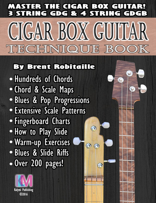 Technique Book for 3- and 4-string Cigar Box Guitar - 208 Pages ...