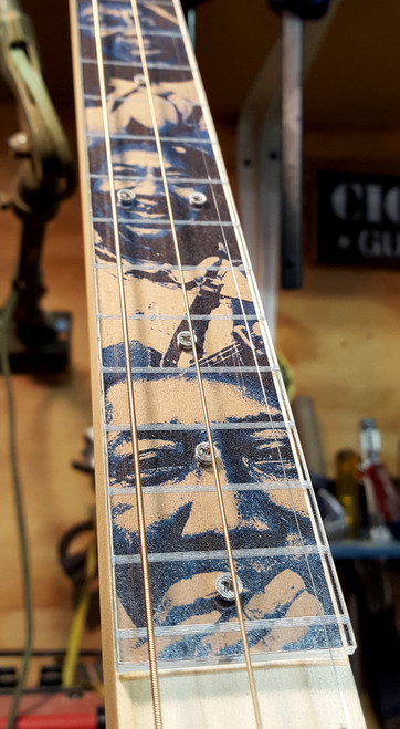 clear acrylic cigar box guitar fretboard a new way to customize your cbg c b gitty. Black Bedroom Furniture Sets. Home Design Ideas