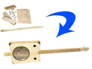 """""""Tin Pan Alley"""" 3-String Paint Can Resonator Guitar Kit"""
