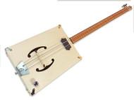 "The ""G-Bass"" 2-string DIY Electric Bass Guitar Kit"