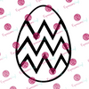 Chevron Egg Digital Cut File