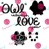 Owl Love You Digital Cut File