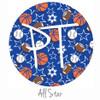 """12""""x12"""" Patterned Heat Transfer Vinyl - All Star"""