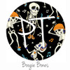 "12""x12"" Patterned Heat Transfer Vinyl - Boogie Bones"